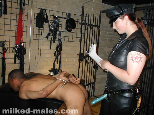 Tied and milked at the cross preview - 3 part 1